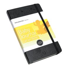 For the mom-to-be:  Moleskine Passions Baby Journal. Everyone knows I LOVE journals..