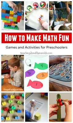 How to Make Math Fun - Teaching 2 and 3 Year Olds