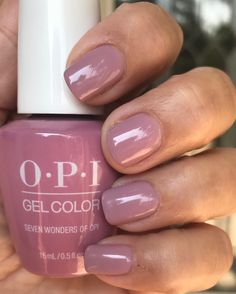 Resource To Help You Become Fall Nail Colors Opi Gel Manicures 97 – The Best Nail Designs – Nail Polish Colors & Trends Opi Gel Polish, Opi Gel Nails, Fall Gel Nails, Opi Nail Colors, Gel Polish Colors, Fall Nail Colors, Gel Color, Nail Polishes, Fall Manicure