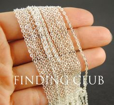 Free Shipping factory 10M(32ft) 2mm Silver Brass Flat Cable Chain DIY Jewelry Necklace Findings Soldered C02