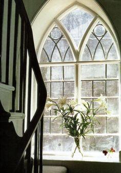 beautiful gothic window | via côté ouest ~ linenandlavender.net