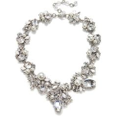 Erickson Beamon White Wedding Necklace - I'm in love.  If only...