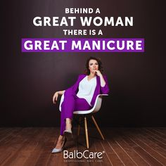 Great woman has a Great Manicure - BrazzCare Aesthetic Beauty, Professional Nails, Great Women, Nail Care, Pedicure, The Cure, Gloves, Socks, Hands