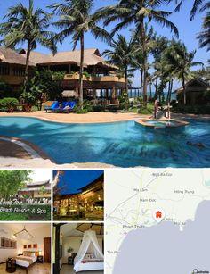 Questo club resort è situato direttamente sulla spiaggia, nel cuore di un'area tranquilla, a circa 10 km dal centro cittadino. La zona è ricca di siti storici, attrazioni naturali, quali dune di sabbia, laghi, canyon, nonché di antichi villaggi di pescatori. Il complesso è ben servito dalla rete degli autobus. Si trova a 200 km da Ho Chi Minh e dall'aeroporto internazionale di Tan Son Nhat.