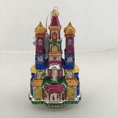 Krakow Christmas Crib Glass Christmas Tree Ornaments, Christmas Tree Decorations, Handmade Ornaments, Krakow, Gold Paint, Hand Blown Glass, Design Projects, Cribs, Art Decor