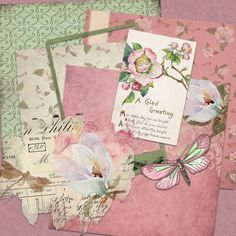 Magnolia Mini Scrapbook Layout Kit. Printables. $4.00