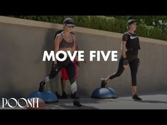 Bosu Workout, Workout Days, Workout Routines, Ball Workouts, Kourtney Kardashian Workout, Glutes, Workout Videos, Booty, Bosu Ball