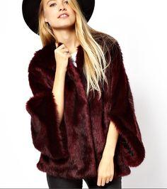 merlot fur jacket - Google Search