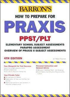 Praxis plt study book