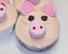 Pig Cupcakes Recipe - Cakes & Baking