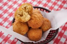 Rainbow Valley Farm ''Farmers Cheese'' Hushpuppies with Okra and Roasted Sweet Corn