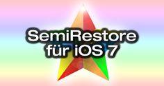 SemiRestore für iOS 7 Jailbreak - http://apfeleimer.de/2014/02/semirestore-fuer-ios-7-jailbreak - Semi-Restore für iOS 7 Jailbreak kommt! Sobald Apple iOS 7.1 veröffentlicht heißt es spätestens bei einer Wiederherstellung Abschied vom iOS 7 Jailbreak mit Evasi0n nehmen, denn ein iOS 7.1 Jailbreak ist zum aktuellen Zeitpunkt kaum zu erwarten. Normalerweise, denn SemiRestore ermöglicht die Wied...