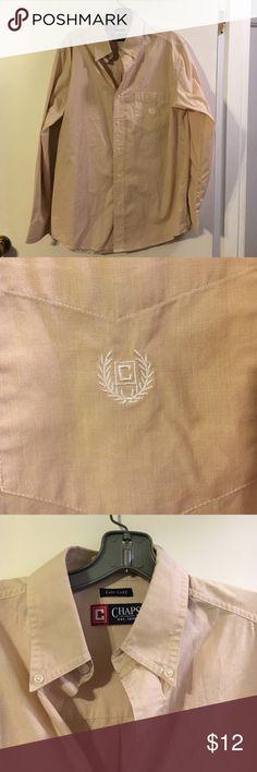 Chaps men's shirt Easy care. Cotton/poly Chaps Shirts