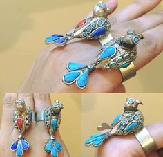 #Afghani #ring #jewelry #afghan #style