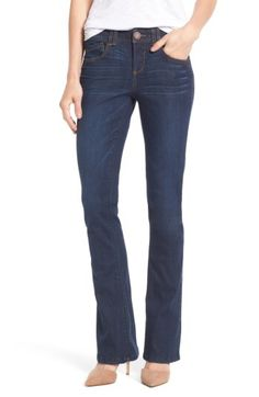 Wit & Wisdom Wit & Wisdom Ab-solution Itty Bitty Bootcut Jeans (Regular & Petite) (Nordstrom Exclusive) available at #Nordstrom
