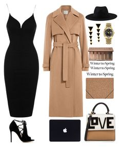 """""""winter to spring"""" by dianakhuzatyan ❤ liked on Polyvore featuring Topshop, Jason Wu, Gianvito Rossi, Les Petits Joueurs, Element, Rolex, House of Harlow 1960, Urban Decay, Nomess and Wintertospring"""