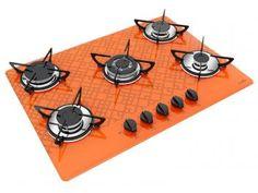 Cooktop 5 Bocas Casavitra Excellence Tetris - Gás tripla chama
