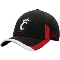 Cincinnati Bearcats Under Armour Sideline Renegade Performance Adjustable Hat - Black