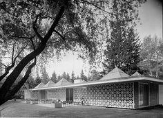 Pedro E. Guerrero-Celanese House, New Canaan, CT Edward Durell Stone, Architect-Edward Cella Art+Architecture