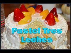 Receta Pastel de 3 leches - YouTube