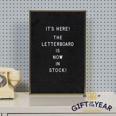 Letter Board Nimitaulu