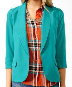 Shawl Collar Blazer | FOREVER21 - 2000039730