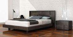 Cubic Platform Bed and Casegoods