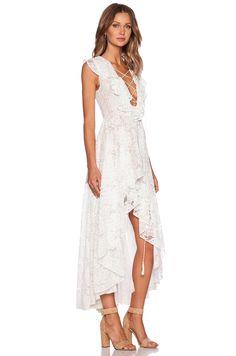 THE JETSET DIARIES x REVOLVE Secret Garden Dress in White