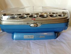 Conair Blue Ion Shine Hot Curler Replacement Base ONLY Hair Roller #Conair #hotRollers