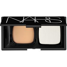 Nars Radiant Cream Compact Foundation Refill in Siberia found on Polyvore featuring beauty products, makeup, face makeup, foundation, moisturizing foundation, nars cosmetics, creme foundation and cream foundation