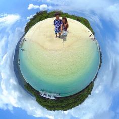 #littleplanet  #tinyplanet #tinyplanetofficial #smallplanet  #tinyplanetbuff #360 #RICOH #photo #beautiful #theta360 #japan #japanese #fisheye #camera #theta360contest #thetas #リトルプラネット #宇宙 #カメラ #写真 #琉球 #okinawa #石垣 #beach #drive #hot  サラバ石垣最高に楽しかった by tth1201 Small Planet, Little Planet, Planets, Instagram Posts, Beautiful