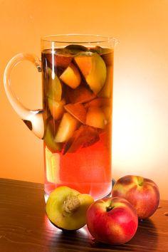 White Peach Sangria  #food52 #saveur #summerfoodfights