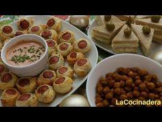 Navidad y Año Nuevo: Mix de Aperitivos fáciles, económicos y deliciosos IV - LaCocinadera - YouTube