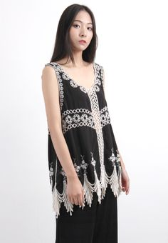 Ethnic Embroidered Vest