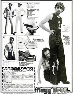 Flagg Bros.~ 35 Bitchin' 70s Mens Fashions