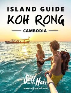 Koh Rong is Cambodia& paradise island that you are looking for! This guide will tell you what to do on Koh Rong. The paradise island in Asia. Cambodia Beaches, Cambodia Travel, Vietnam Travel, Asia Travel, Hawaii Travel, Italy Travel, London Travel, Laos, Backpacking South America