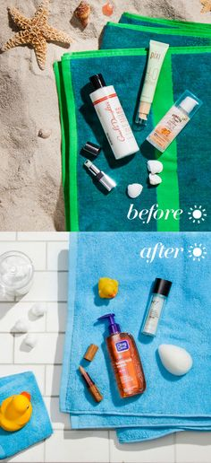 The best beauty products for the beach