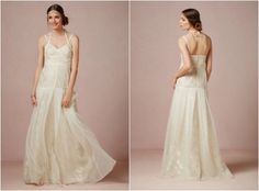 BHLDN Wedding Gown Straps