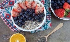 Easy Overnight Oats With Chia - Plant-Based Vegan Recipe