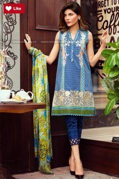 Al Karam Eid Mid Summer 2017 Whatsapp: 00923452355358 Website: www. Pakistani Casual Wear, Pakistani Wedding Outfits, Pakistani Bridal Wear, Pakistani Dress Design, Pakistani Dresses, Leggings Fashion, Fashion Pants, Fashion Dresses, Stylish Dresses