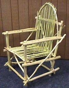 how to build willow furniture