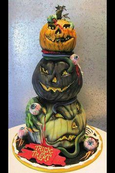 Las 20 más tenebrosas tortas de Halloween