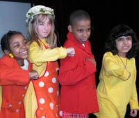 Saturday is perfect for a neighborhood kids' theater performance!