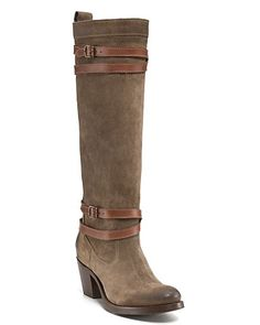 """Frye """"Jane"""" Strappy Boots 