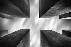 Athena Carey - Google+ @Athena Carey #photography #berlin #bw #monochrome Holocaust Memorial