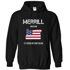 MERRILL-- Its Where My Story Begins! - #boyfriend gift #gift for mom. GET IT => https://www.sunfrog.com/No-Category/MERRILL--Its-Where-My-Story-Begins-3125-Black-19240111-Hoodie.html?68278