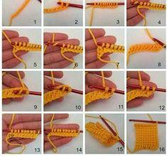 Most up-to-date Photo Tunisian Crochet entrelac Style tunisian-crochet-ten-stitch-blanket-pattern Tunisian Crochet Patterns, Crochet Shawl, Free Crochet, Crochet Yarn, 10 Stitch Blanket, Crochet Crafts, Yarn Crafts, Stitch Patterns, Blanket Patterns