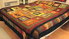 My Africa - bed quilt