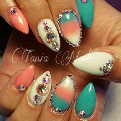 like the colors and fun bling