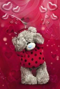 Florynda del Sol ღ☀¨✿ ¸.ღ ♥Tatty Teddy Love♥ Anche gli Orsetti hanno un'anima…♥ Tatty Teddy, Valentine Day Love, Valentines, Teddy Bear Quotes, Teddy Beer, Love Smiley, Teddy Pictures, Blue Nose Friends, Bear Wallpaper